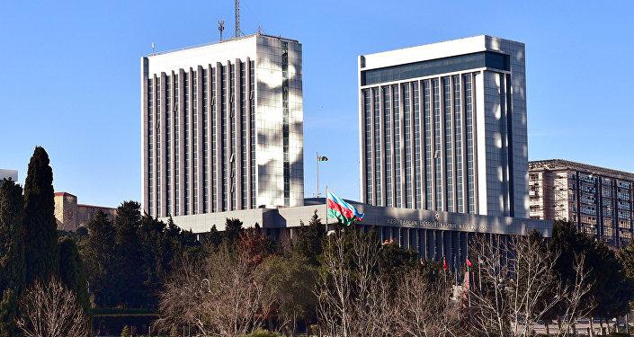 Здание парламента Азербайджана