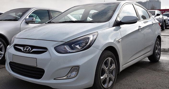 Автомобиль марки Hyundai Accent