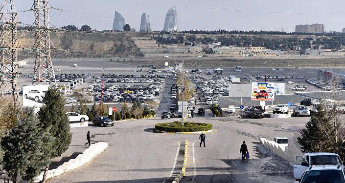 Рынок автомобилей в Баку
