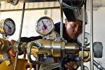 Блок редуктирования, для регуляции давления газа в трубопроводе