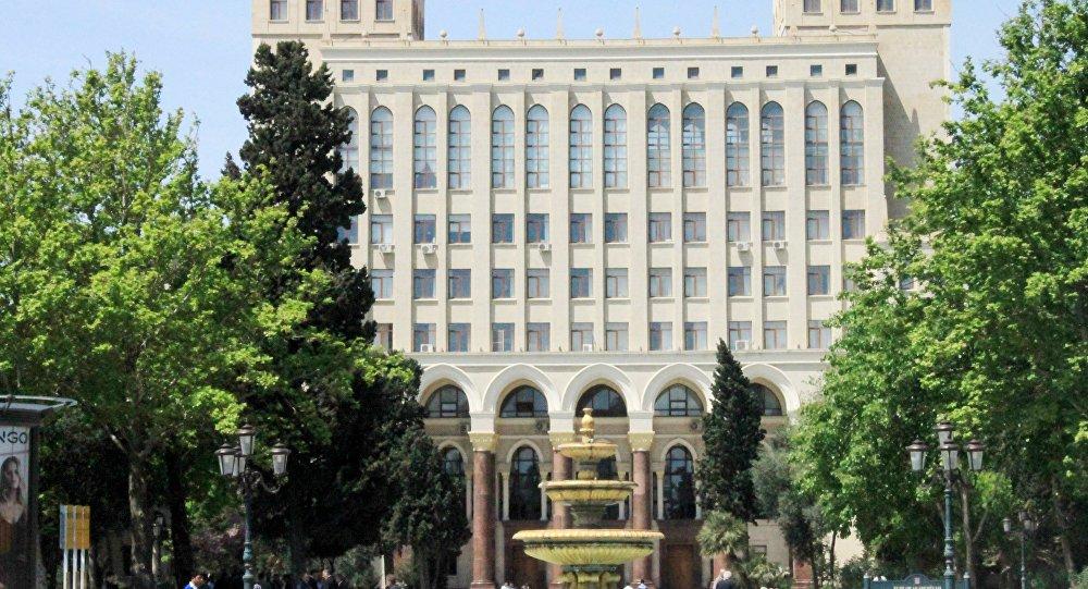 Национальная Академия Наук Азербайджана. Архивное фото