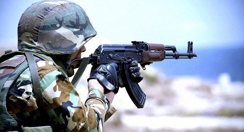 ВНагорном Карабахе умер военнослужащийВС Азербайджана,