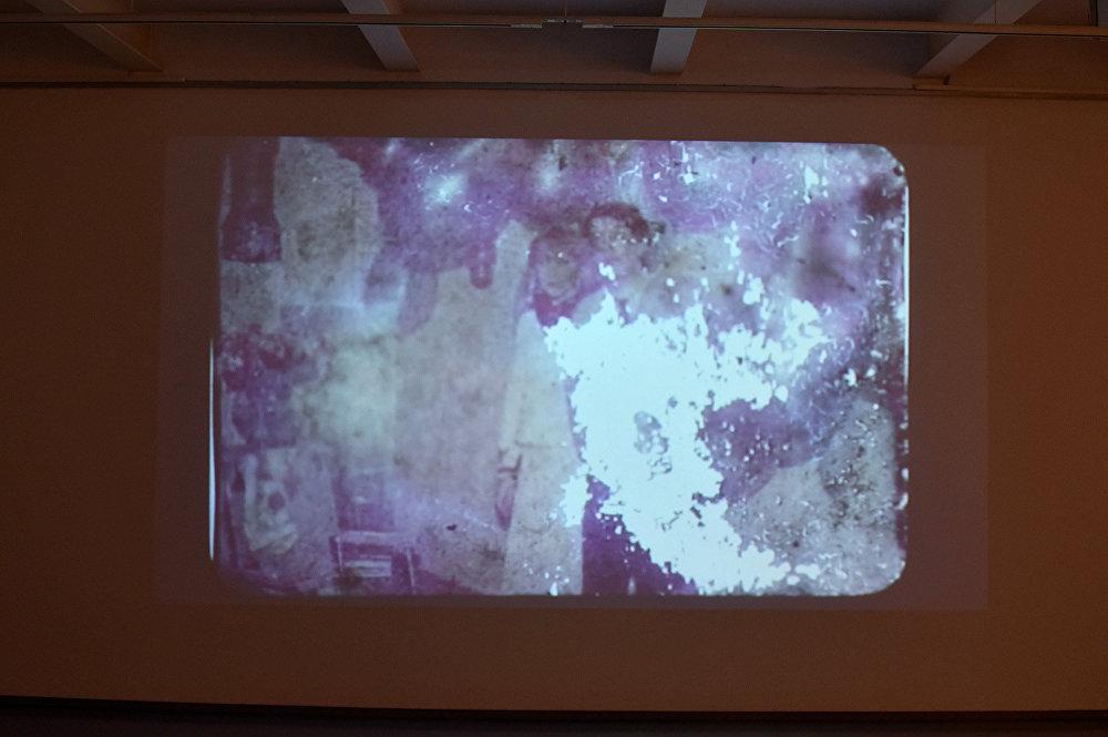 Видео инсталляция художницы Оли Кройтор