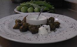 Рецепт азербайджанснкой долмы из виноградных листьев
