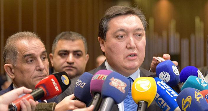 Аскар Мамин, глава Казахстанские железные дороги