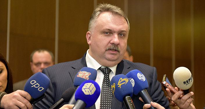 Александр Завгородный, глава Украинская железная дорога