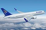 Самолет компании Air Astana