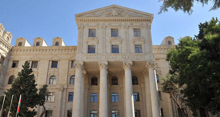 Здание МИД Азербайджанской Республики, фото из архива