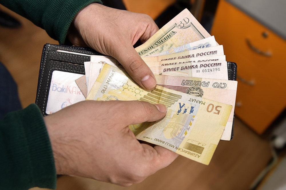 Курсы российского рубля в баку