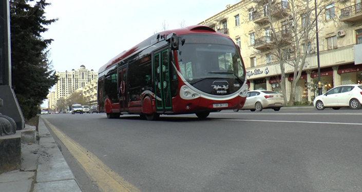 Bakıda avtobus marşrutlarının dəyişdirilməsi NİİM-in diqqət mərkəzindədir