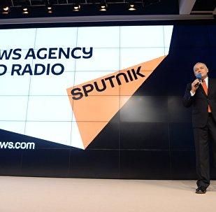 Презентация международного новостного бренда Sputnik. Архивное фото