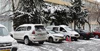 Снег в Баку, фото из архива