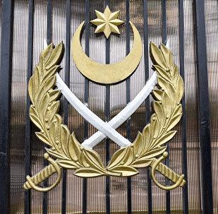 Герб Министерства Обороны Азербайджанской Республики, фото из архива
