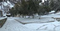 Заснеженный Баку: погода продолжает преподносить сюрпризы