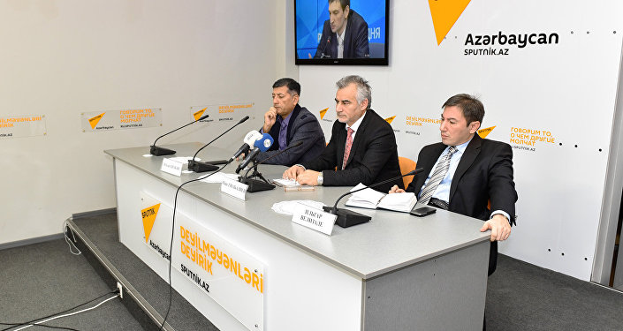 Азербайджанские экономические аналитики на видеомосте Москва – Астана – Баку