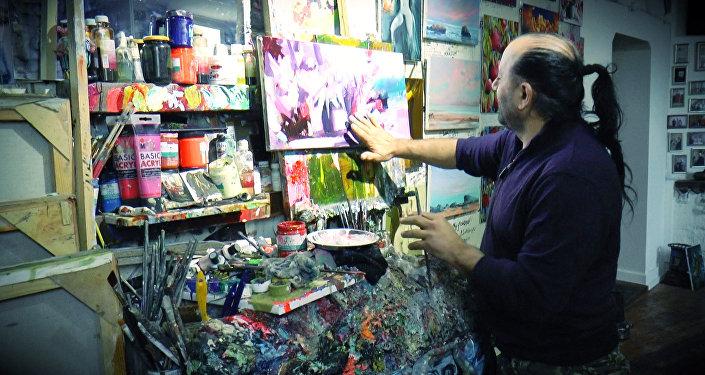 Об искусстве Али Шамси можно говорить часами.
