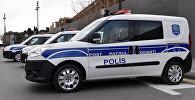 Машины патрульной службы в Баку