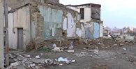 Так выглядит нынешняя Советская в Баку - пыль столбом и груды камней
