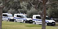 Полицейские машины в Баку
