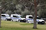 Полицейские машины в Баку, фото из архива
