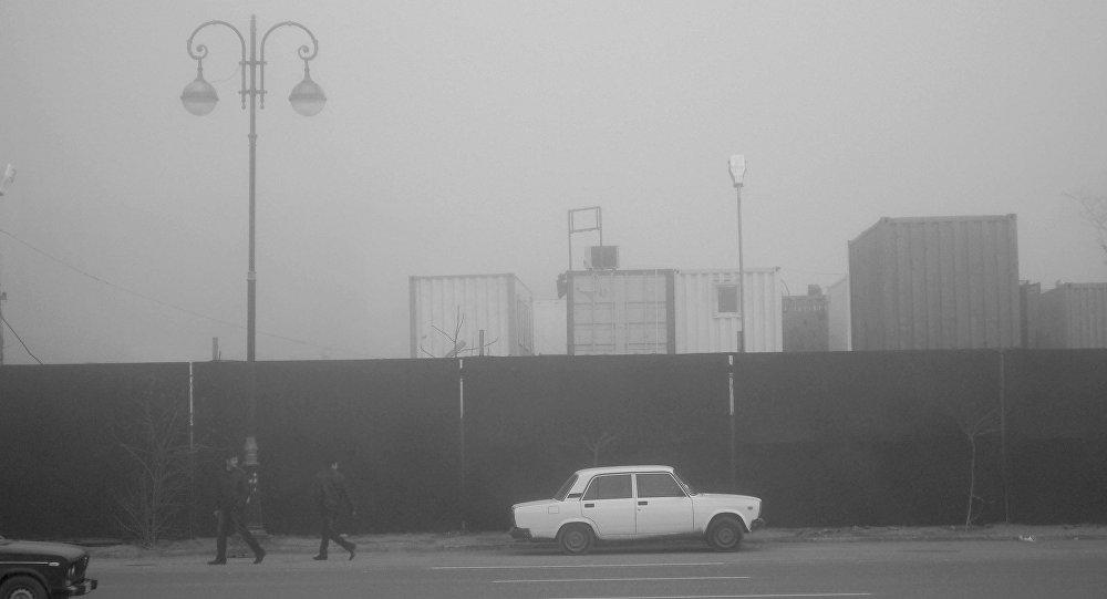 Туман в Баку