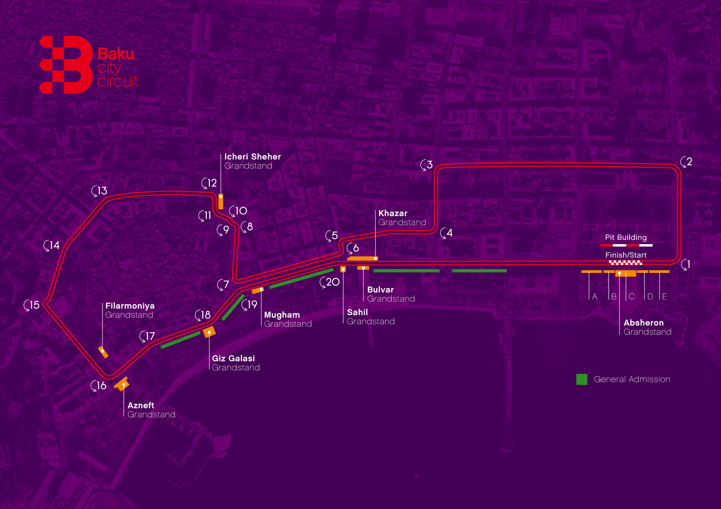 Карта трассы