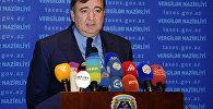 Fazil Məmmədov, Azərbaycan Respublikasının vergilər naziri