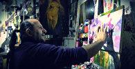 Али Шамси: могу найти общий язык с красками без переводчика