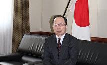 Чрезвычайный и полномочный посол Японии в Азербайджане, господин Цугуо Такахас