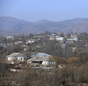 Село Алибейли Товузского района. Архивное фото