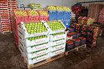 Meyvəli Bazarının satış anbarı