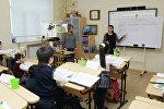 Учебный процесс в одной из бакинских школ