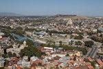 Tbilisi şəhərinin görüntüsü