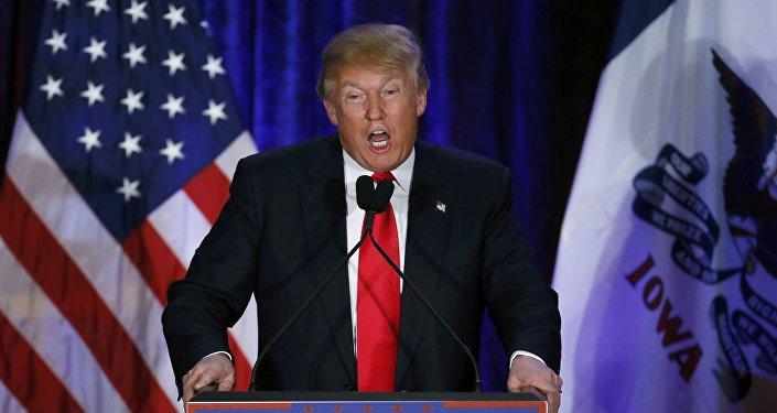 Дональд Трамп, кандидат в президенты США
