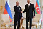Rusiya prezidenti Vladimir Putinin Azərbaycana işgüzar səfəri
