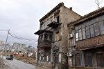 Дом, где жил Аббас Мирза Шарифзаде