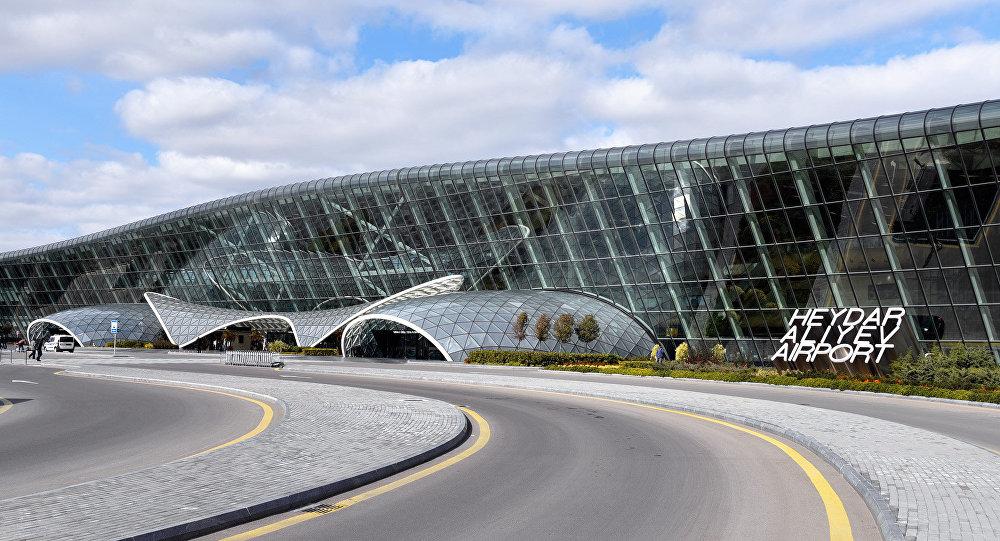 Международный аэропорт Гейдар Алиев в Баку, фото из архива