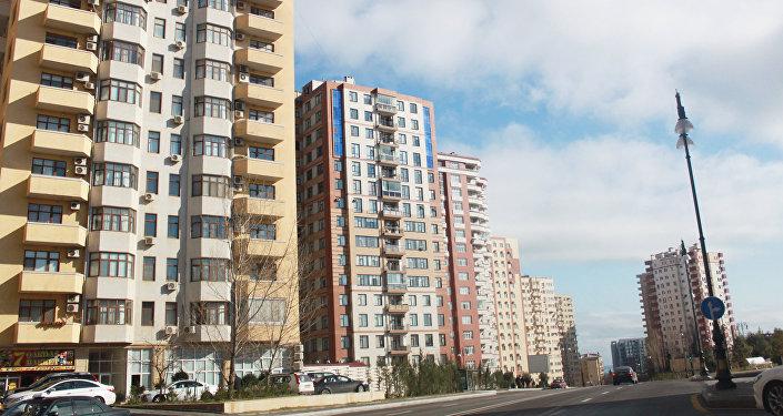 Дома по улице И.Гутгашынлы в Баку