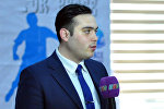 Орхан Рагимзаде, член Европейской интеграции молодежи Азербайджана
