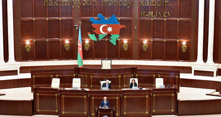 Заседание в парламенте, архивное фото