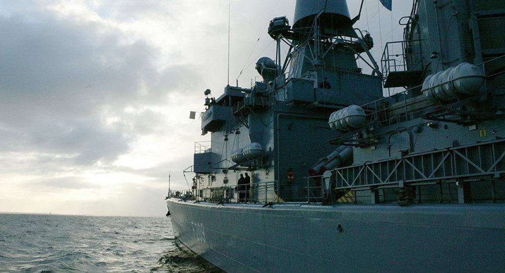 Боевые корабли NATO. Архивное фото