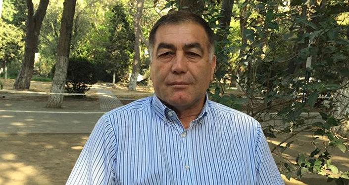 Председатель  Национального конгресса азербайджанцев Грузии (КАГ)  Али Бабаев