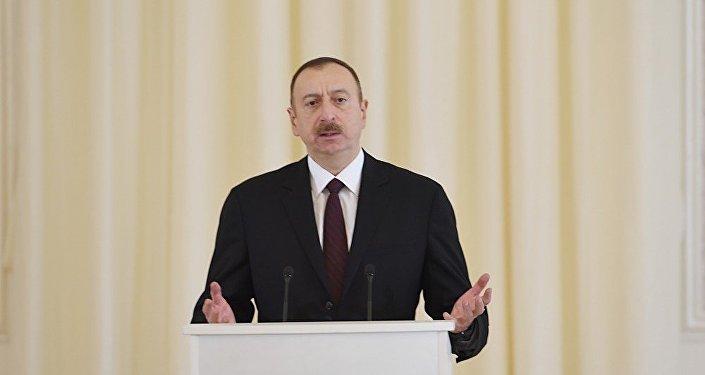 İlham Əliyev - Gəncə ziyarəti