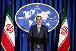 Hüseyn Cabiri Ənsari, İran Xarici İşlər Nazirliyinin sözçüsü