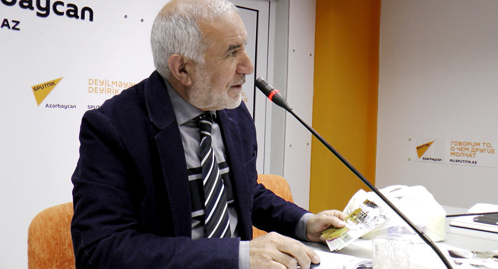 Председатель Общества свободных потребителей Азербайджана Эюб Гусейнов