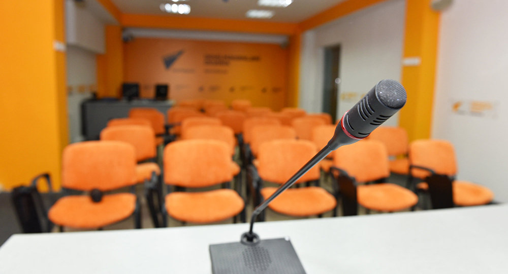 Пресс-центр агентства Sputnik Азербайджан