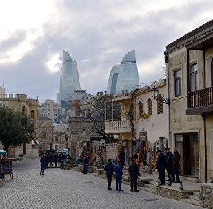 Ичеришехер – историчесякая часть Баку, фото из архива