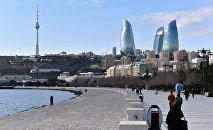 Бакинский бульвар. Архивное фото