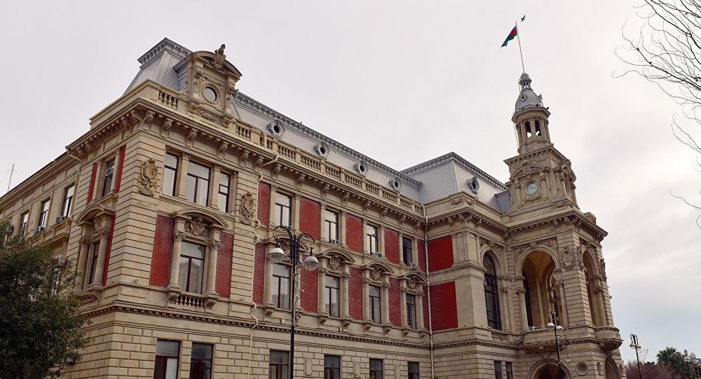 Здание Исполнительной власти города Баку