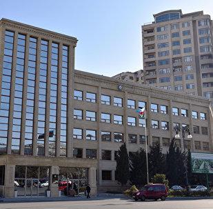 Здание Министерства экологии и природных ресурсов Азербайджана, архивное фото